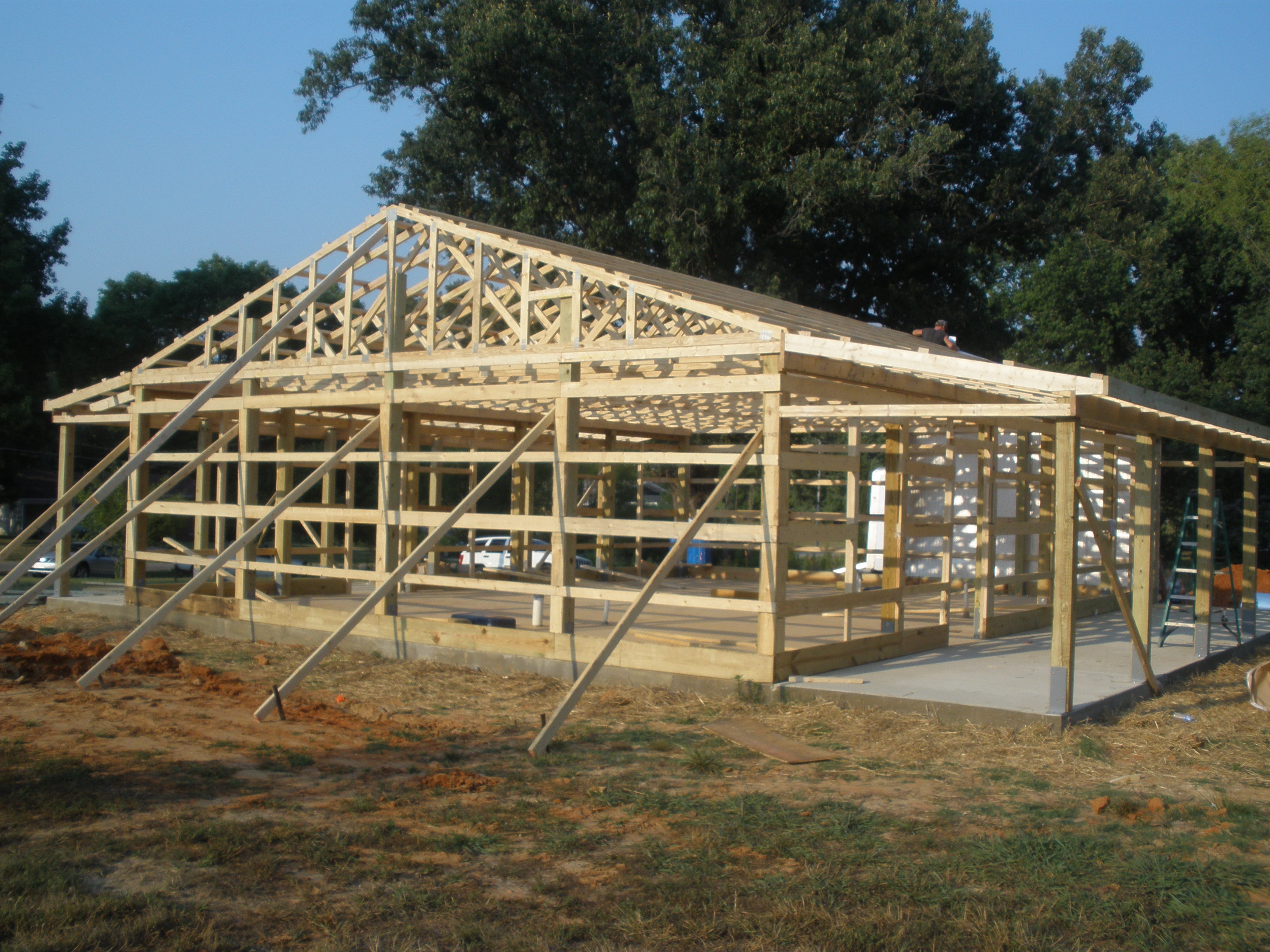 Post Frame Construction | Sara\'s House