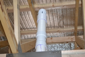 STUDOR VENT THIS DEVICE ELIMINATES PENETRATING THE ROOF TO VENT PLUMBING