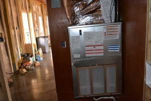 AIR HANDLER FOR THE HEAT PUMP