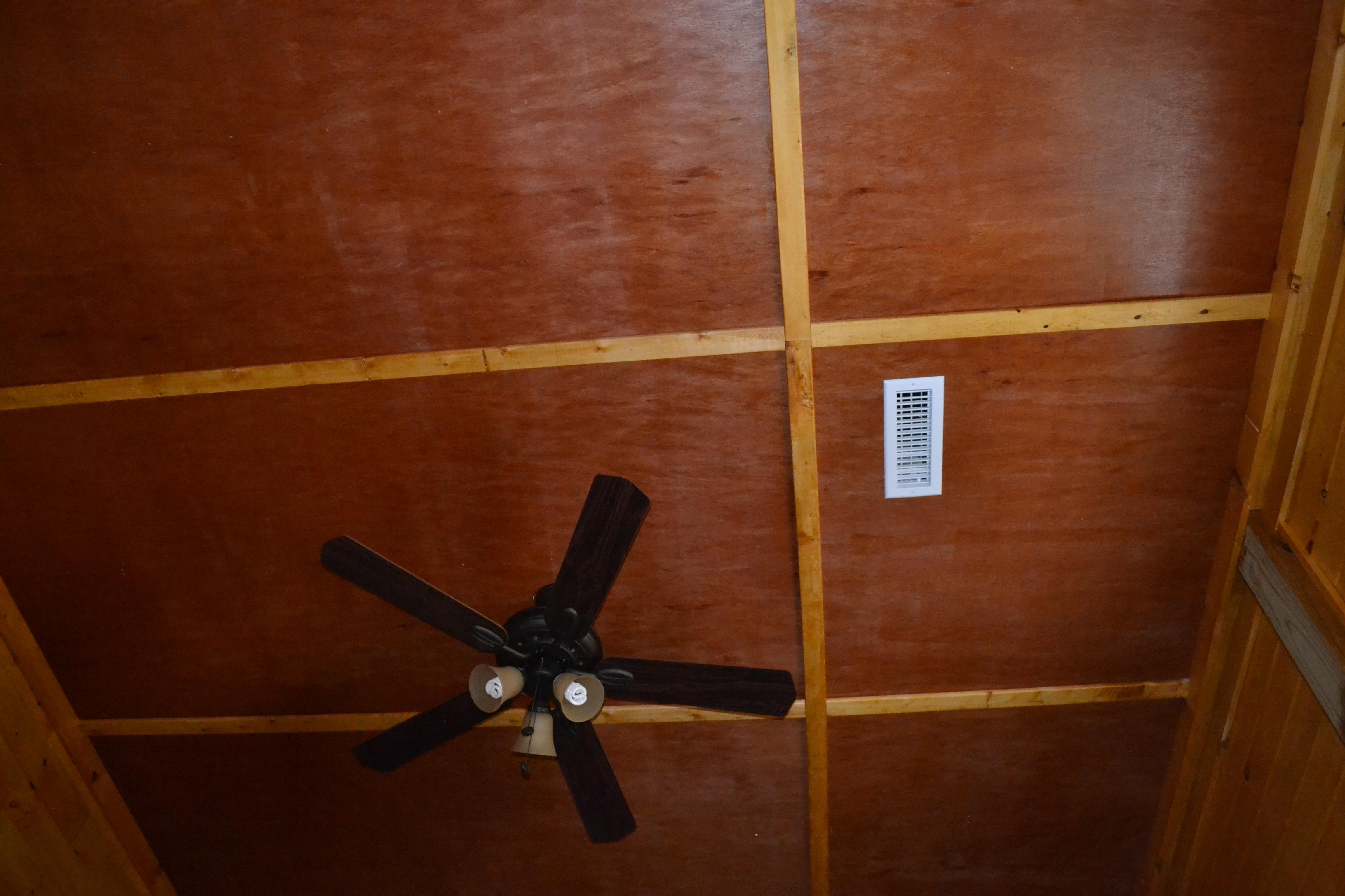 Redneck Coffered Ceiling……